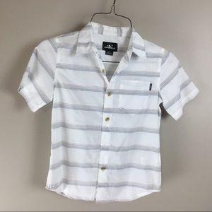 O'Neill Boys button down shirt (M 5/6)